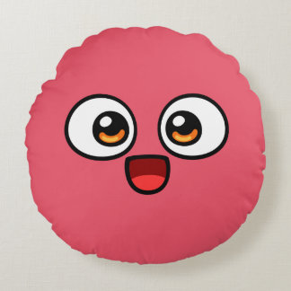 Boo Round Pillow