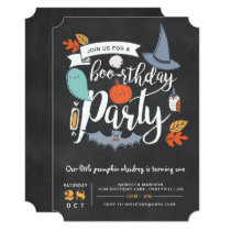 BOO-rthday Party Invitation