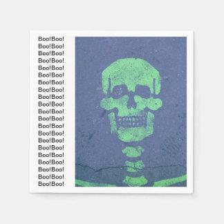 Boo! Skeleton Napkins