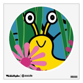 Boo Snail Wall Decal - Cute Snail Decal