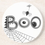 Boo! Spider Halloween Coaster