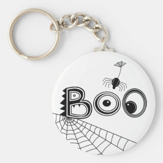 Boo! Spider Halloween Key Chains