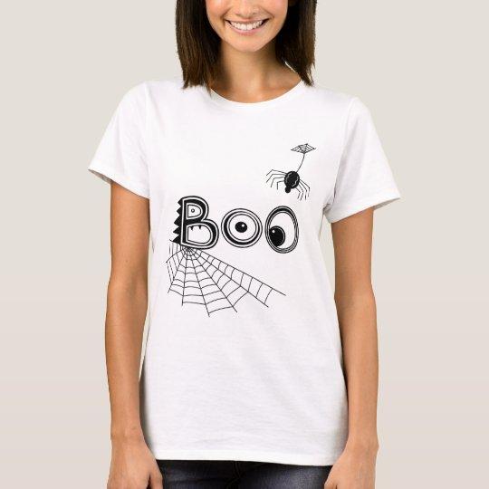 Boo! Spider Halloween T-Shirt