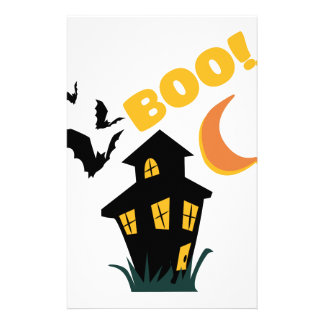 Boo! Stationery