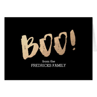 Boo! Stationery Note Card