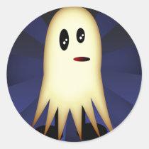 Boo, sticker round sticker