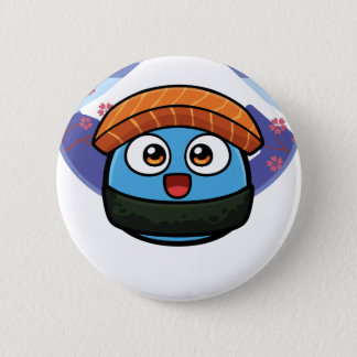 Boo Sushi Products Pinback Button
