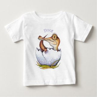 'Boo' the baby crocodile baby T Shirt