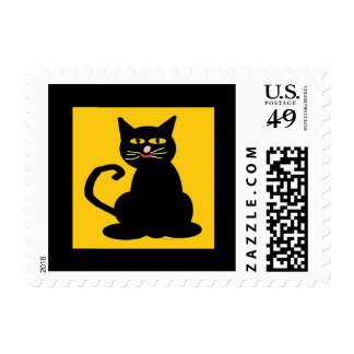 Boo The Cat Postage Stamp