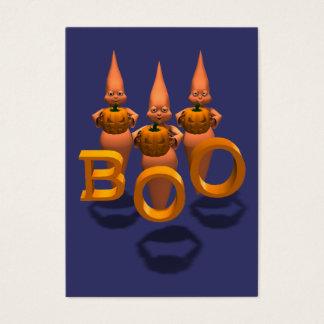 Boo! Three Cute Ghosties Business Card