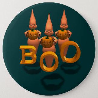 Boo! Three Cute Ghosties Button
