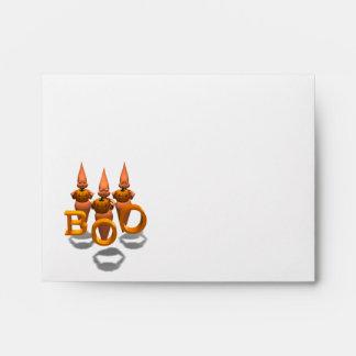 Boo! Three Cute Ghosties Envelope