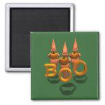 Boo! Three Cute Ghosties Magnet