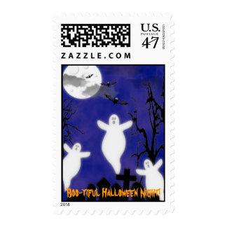 Boo-tiful Halloween Night Stamp