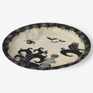 Boo-Tilicious Halloween EVENT PARTY 9 Inch Paper Plate