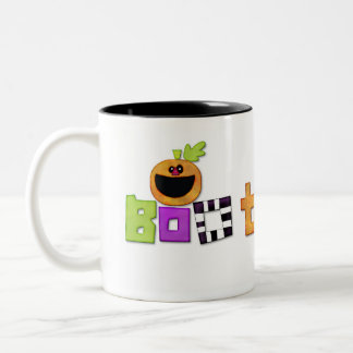 Boo to You Halloween decorative Two-Tone Coffee Mug