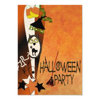 Boo to You Halloween Invitation