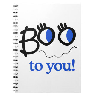 Boo To You Notebook