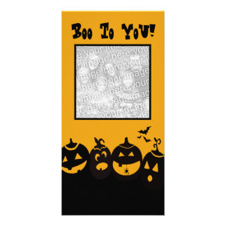Boo to You Photo Greeting Card