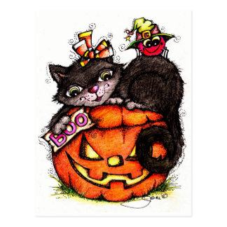 Boo to YOU! Post Card