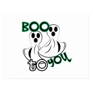 Boo To You Postcard