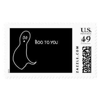 Boo to YOU - stamps! Postage