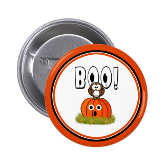 BOO to You, Too! 2 Inch Round Button