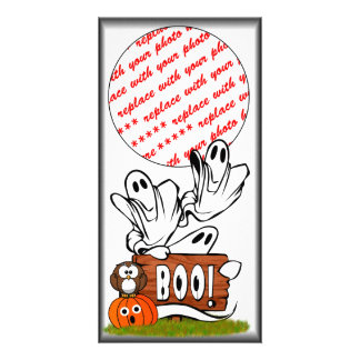 BOO to You Too Picture Card