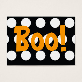 Boo! Treat Bag Tag