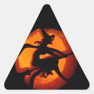Boo Triangle Sticker