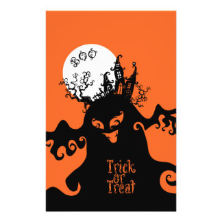 Boo Trick or Treat design Flyer