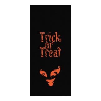 Boo Trick or Treat design Rack Card