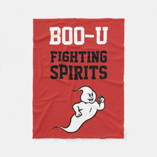 Boo-U Fighting Spirits Fleece Blanket
