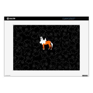 "Boo Unicorn Skin For 15"" Laptop"