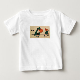 Boo! (Vintage Halloween Card) Baby T-Shirt