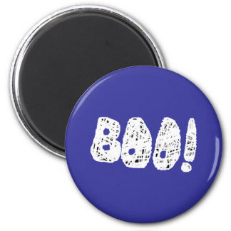 BOO! White and Black Letters. Magnet
