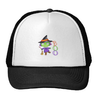 BOO WITCH TRUCKER HAT
