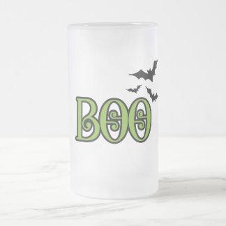 boo with bats coffee mug