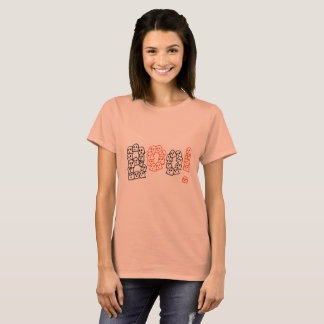 Boo Word Shirt