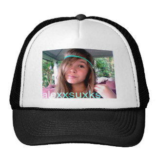 Booalley123 and alexxsuxks trucker hat