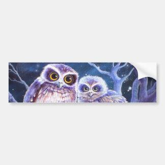 Boobook Owl Family Bumper Stickers