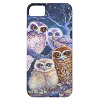 Boobook owl family. iPhone SE/5/5s case