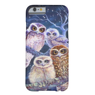 Boobook owl family iPhone 6 case
