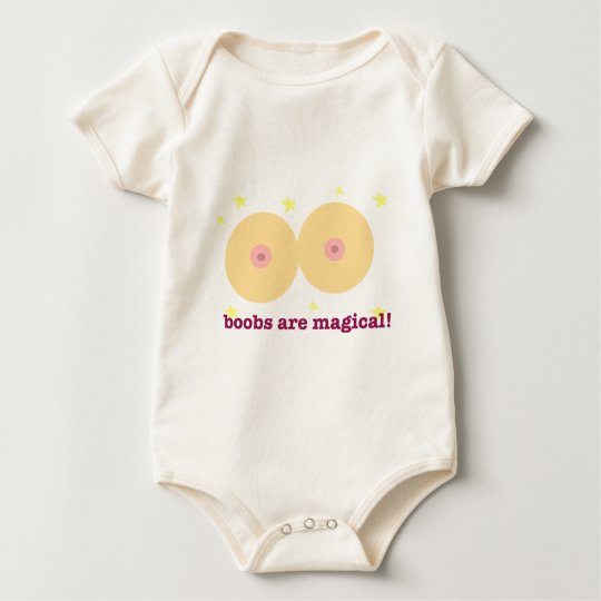 boobs are magical baby bodysuit