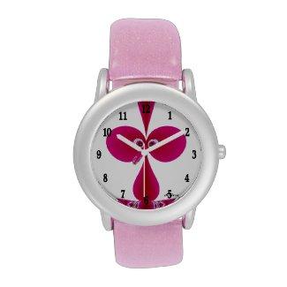 Booby Bird Pink Wrist Watches