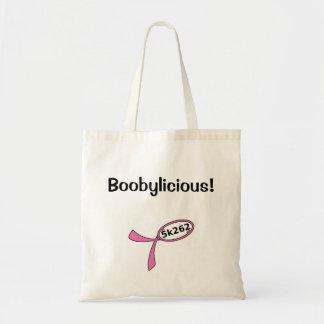 Boobylicious! Budget Tote Bag
