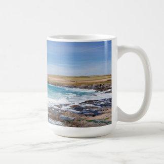 Boobys Bay Beach  England Coffee Mug