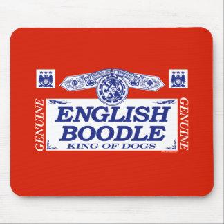 Boodle inglés alfombrillas de ratones