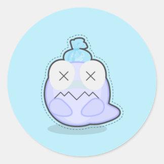 Boofus Stick #037 Round Sticker