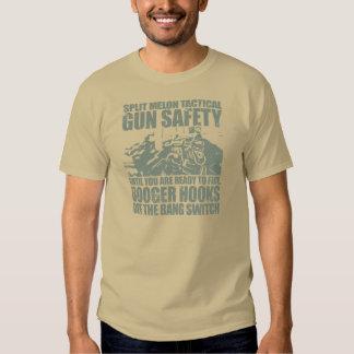 Booger Hooks Off the Bang Switch - Slate Green T-Shirt